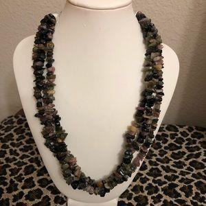 Jewelry - Tourmaline 3-strand necklace